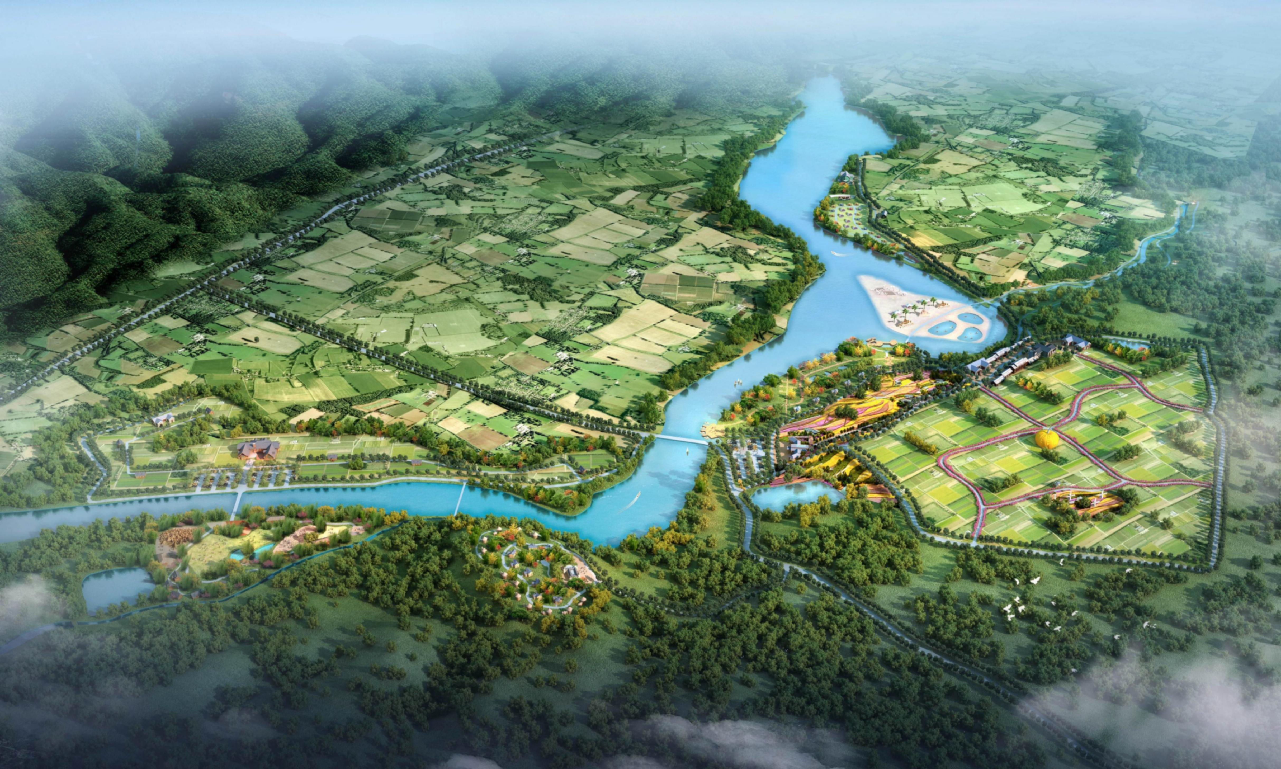 广东 英德英农农庄之亲子农乐园 旅游规划 休闲农业 农业培训 木屋建造
