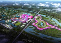 """农业公园 · 湖北省荆门市""""中国农谷•洋丰智农""""生态岛项目"""