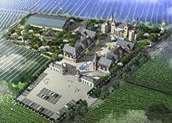 农庄酒庄 · 青海省民和县葡萄酒主题庄园