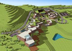 """建筑景观 · 北京市密云区·""""幸福乌托邦""""文创休闲小镇建筑设计:精细文创,活化乡村"""