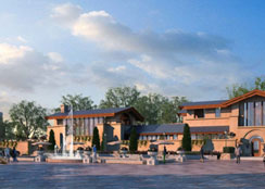 休闲商业 · 安徽桐城水世界威尼斯风情水街:景区依托型商业街发展新风尚
