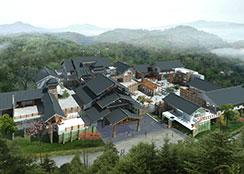 休闲商业 · 云南石林阿诗玛休闲商业街区:情景体验式的文化购物街区