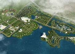 caopron|手机官网地产以湖泊湿地资源为依托的养生主题caopron|手机官网地产项目—中国长兴•美合国际养生主题生活城