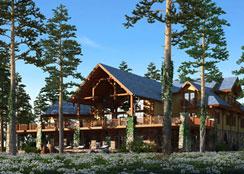 特色木屋 · 大连能是国际休闲农场:个性化的木屋住宿让消费者更有选择
