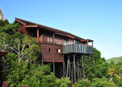 特色木屋 · 浙江省金华市南山木语生态休闲度假区:契合自然主题的木屋建筑