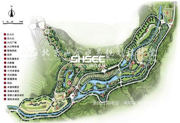 营地规划设计,房车营地规划,汽车营地规划