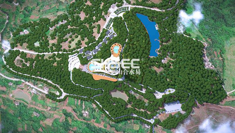 生态休闲,建筑景观