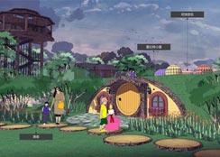亲子农园 · 安徽省阜阳市•奇趣多幻谷休闲童乐园:一个具有童话色彩,将产品做到极致的主题型亲子农业研学乐园