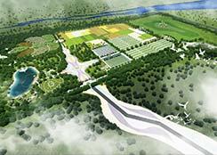 田园综合体山合水易田园综合体新作——《内蒙古鄂尔多斯康巴什草原丝路项目》