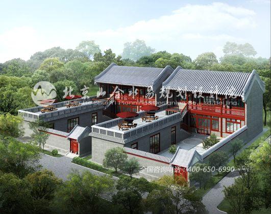 中式四合院建筑设计