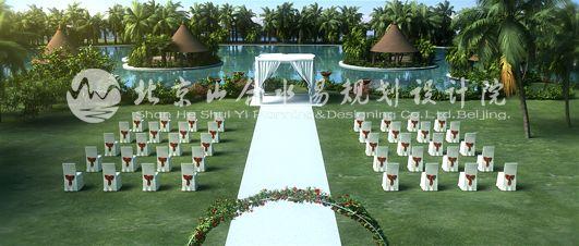 婚礼草坪景观设计-旅游规划