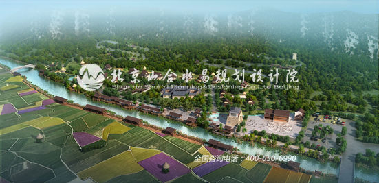 我院在规划设计时,将乡村旅游功能定位为该区域的最