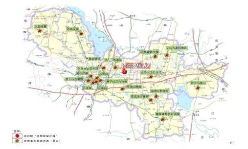 格尔木星园路地图