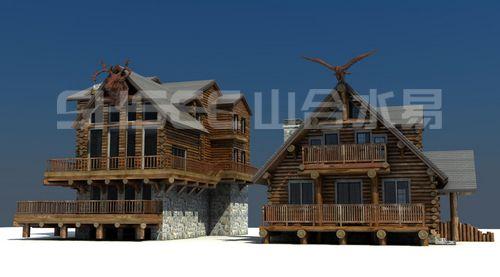 木材微观结构示意图