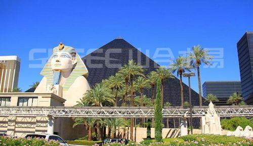 无论是美国拉斯维加斯著名的金字塔酒店