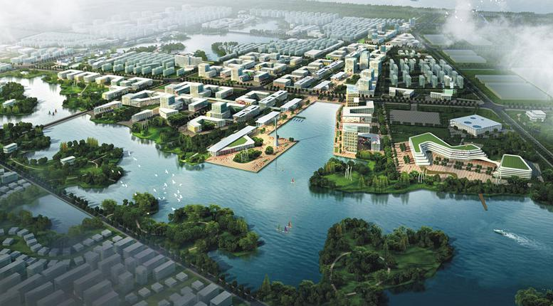 环境规划,为一个城市的未来各种活动安排空间结构