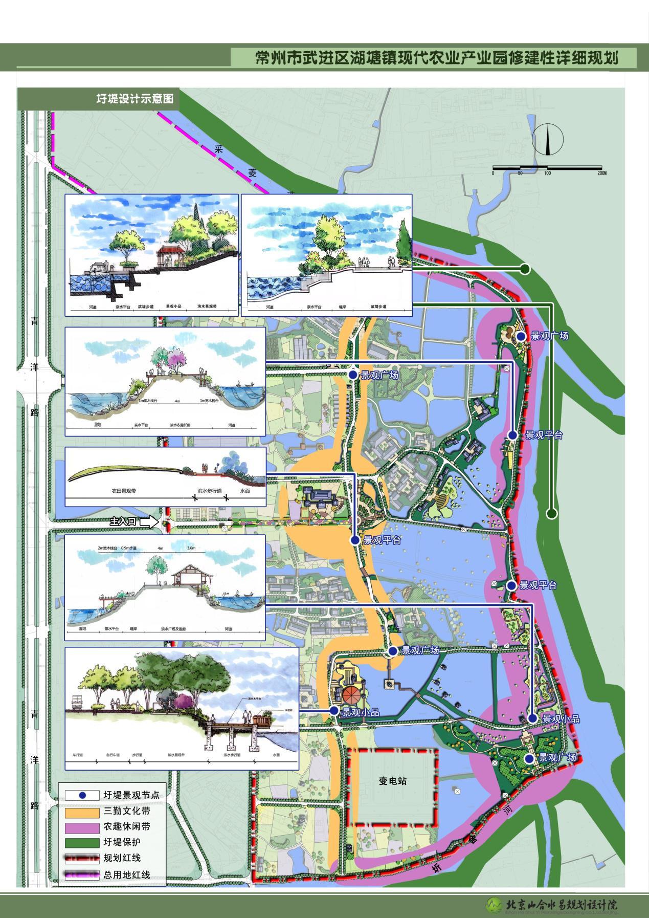 图7 圩堤设计示意图