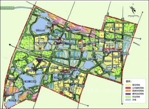 图5 规划总平面图