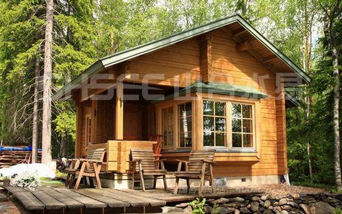 木结构建筑 自然而优美