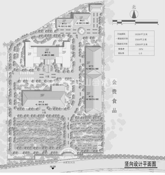 酒庄建筑平面图
