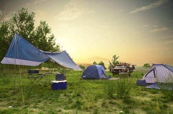自驾车露营