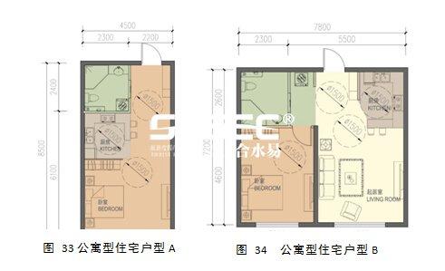 公寓型养老住宅户型