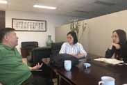 山合水易与中国通号集团就福建省某乡村振兴及特色小镇项目进行会谈